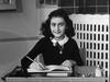 Anna Frank lést í útrúmingaarbúðum nasista.