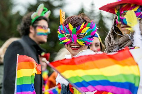 This is the first time that an Icelandic president takes part in Reykjavik Pride.