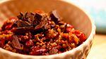 Chili con carne með súkkulaði