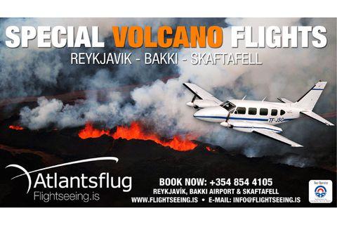 Atlantsflug / Skaftafell - Bakki - Reykjavík