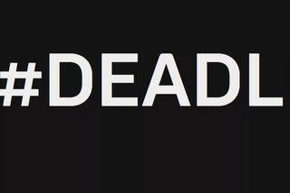 Yfirskrift sænsku blaðakvennanna er #DEADLINE.