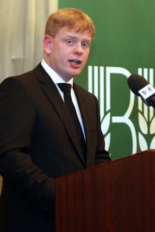 Haraldur Benediktsson.