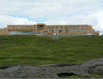 Mikið kapp var lagt á frágang við hið nýja Fosshótel í Mývatnssveit sem opnað var ...