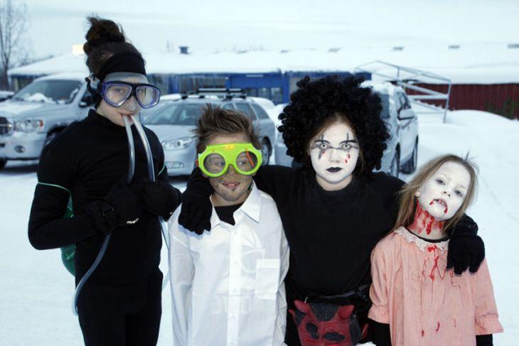 Öskudagsfjör á Akureyri.