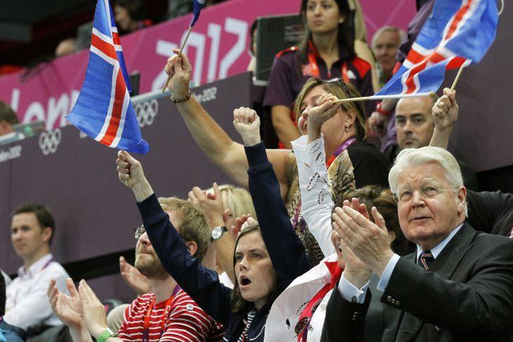 Katrín Jakobsdóttir, Dorrit Moussaieff, Ólafur Ragnar Grímsson.