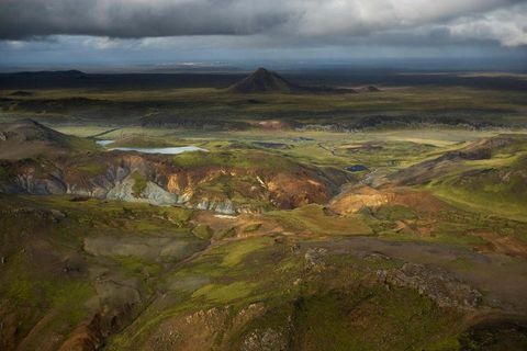 The landscape at Reykjarnes Peninsula is a bit alien.