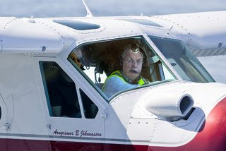 Arngrímur B. Jóhannsson flugmaður.
