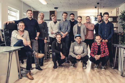 The team at Icelandic production company Tjarnargatan.