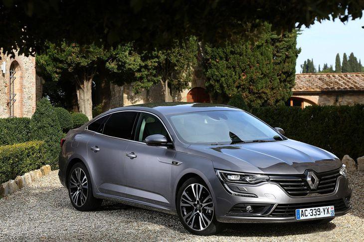 Renault Talisman skartar titlinum fallegasti bíll heims í ár.
