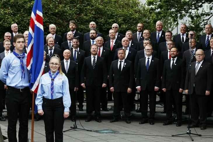 Hátíðarhöld á 17. júní 2016
