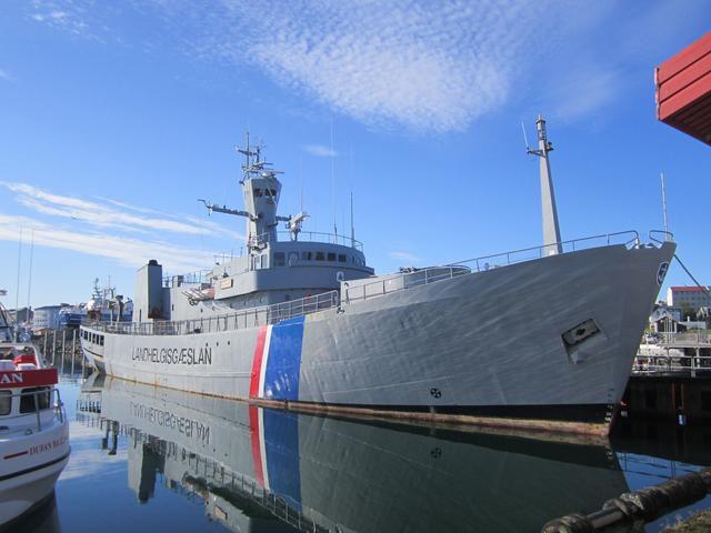 Guided tour on Óðinn Coast Guard Vessel