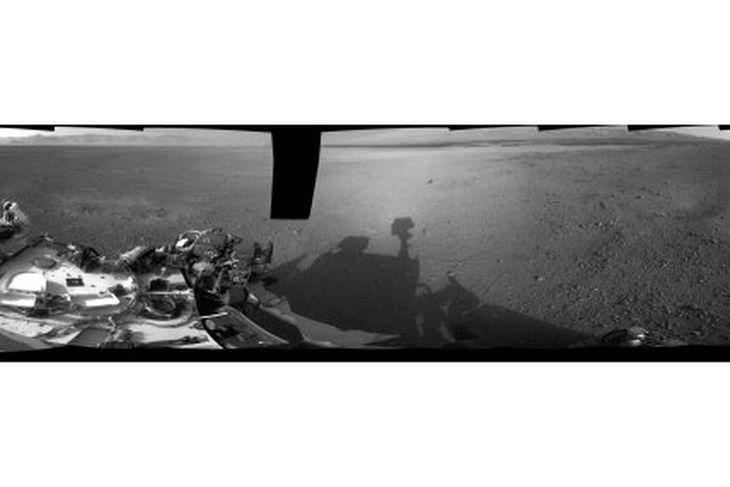 Auðnin á Mars.