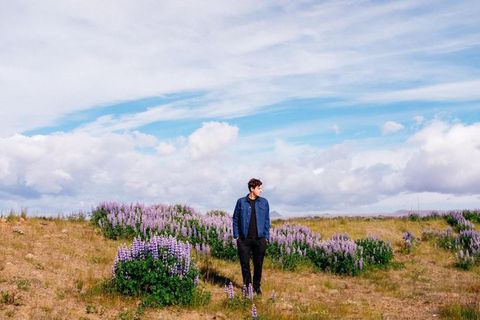 Jamie xx in Iceland.