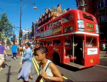 Strætisvagnar í London munu ganga fyrir kaffi.