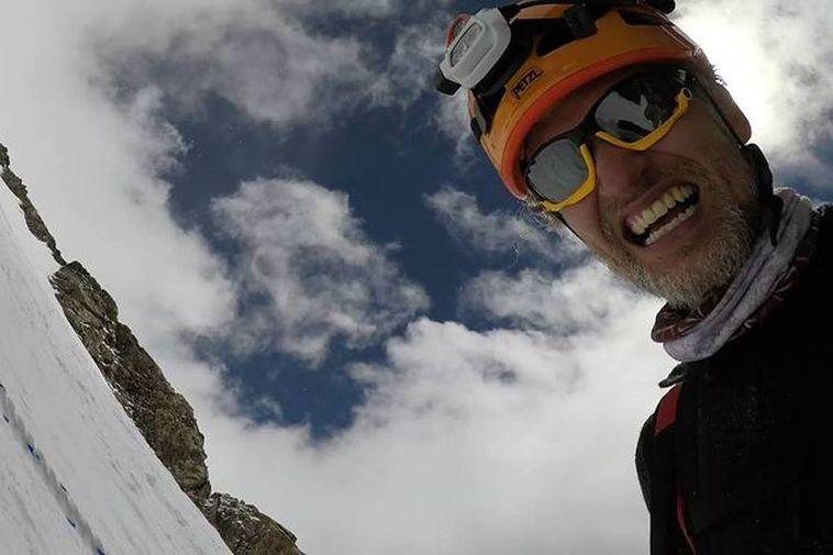 Icelandic mountaineer John Snorri Sigurjónsson.