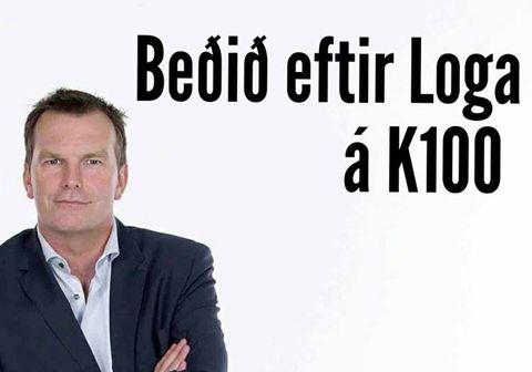 Útvarpsstöðin K100 sem er í eigu Árvakurs hefur náð samningi við Logi Bergmann Eiðsson um dagskrárgerð á stöðinni.