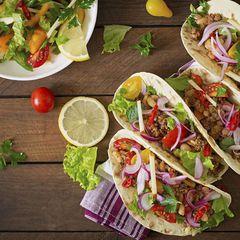 Lágkolvetna taco