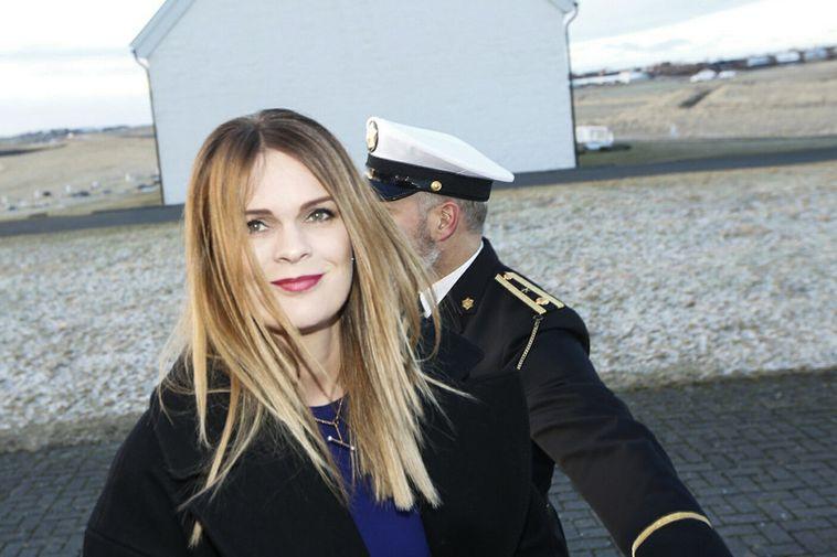 Minister for the Environment, Björt Ólafsdóttir.