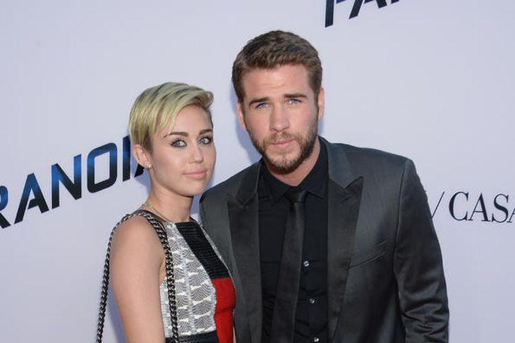 Miley Cyrus og Liam Hemsworth voru par í fjögur ár. ...