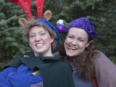 Christmas play for children – Þorri and Þura