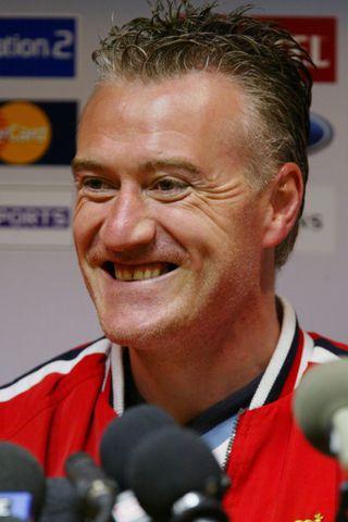 Didier Deschamps vill halda áfram með Marseille.