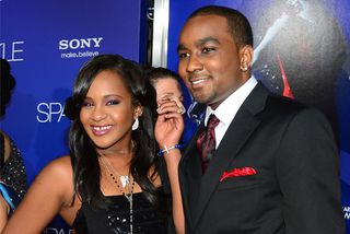 Bobbi Kristina Brown og Nick Gordon.