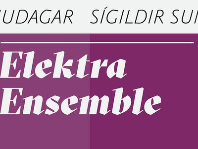 Elektra Ensemble- An Ode to Nature - Classical Sundays