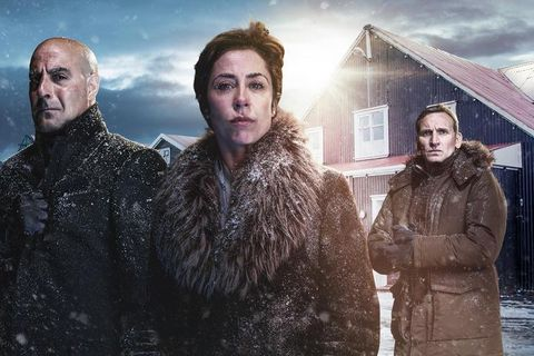 The main characters in Fortitude.