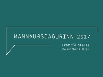 Mannauðsdagurinn 2017 - sýningarsvæði
