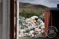 yndin sýnir frá starfsemi Pure North Recycling í Hveragerði.
