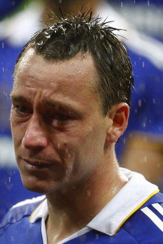 John Terry fyrirliði Chelsea.