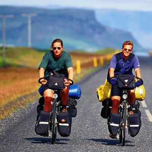 Cycling around Iceland
