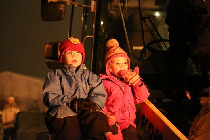 Áramótabrenna á Akureyri