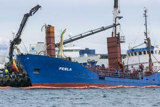 Perla hefur lokið hlutverki sínu fyrir Björgun.