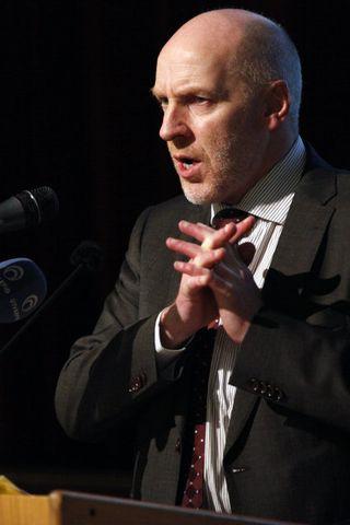 Steingrímur J. Sigfússon, formaður VG.
