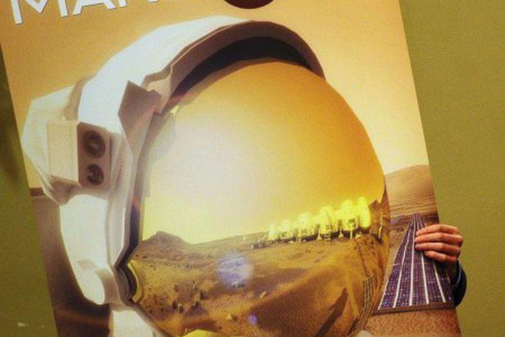 Mars One-verkefnið vakti mikla athygli þegar það var kynnt fyrir ...