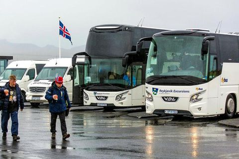 Reykjavík Excursions employs about 300 drivers.