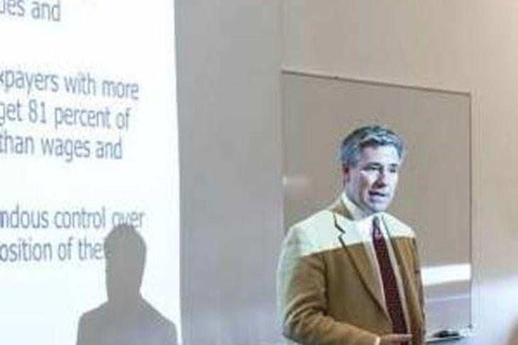 Dr. Daniel Mitchell er aðalskattasérfræðingur Cato-stofnunarinnar.