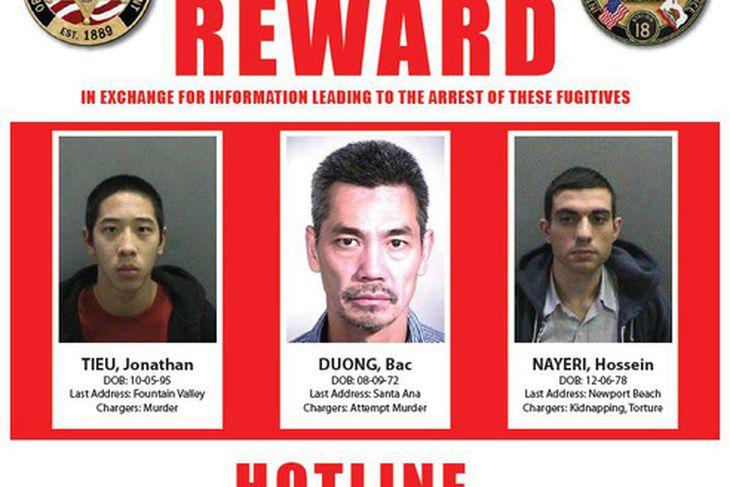 Jonathan Tieu, Bac Duong og Hossein Nayeri.