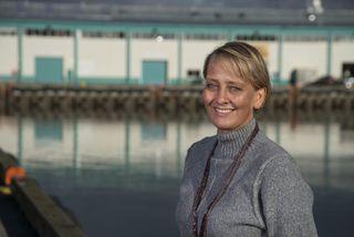 Marianne Rasmussen-Coulling, framkvæmdastjóri Íslensku sjávarútvegssýningarinnar.