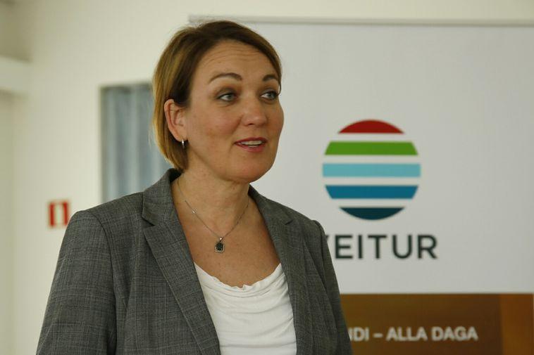 Inga Dóra Hrólfsdóttir, Veitur's CEO.