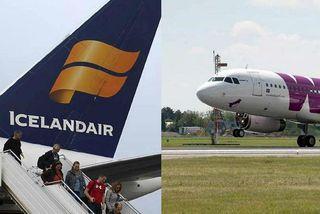 Talsverðar seinkanir hafa verið hjá Icelandair og WOW síðustu daga.