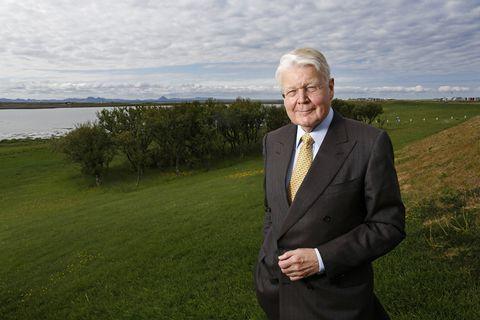 Ólafur Ragnar Grímsson, President of Iceland.