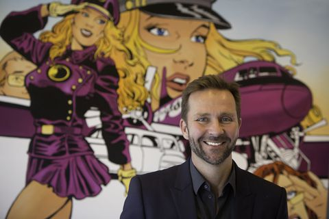 Skúli Mogensen, CEO of WOW air.