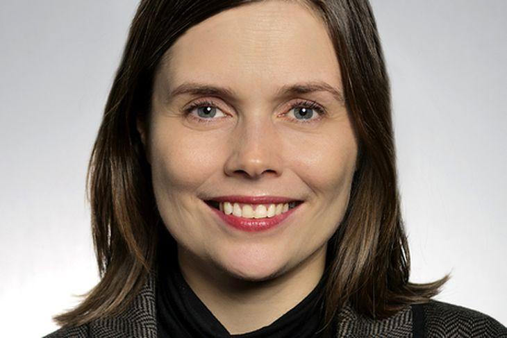 Katrín Jakobsdóttir formaður VG.