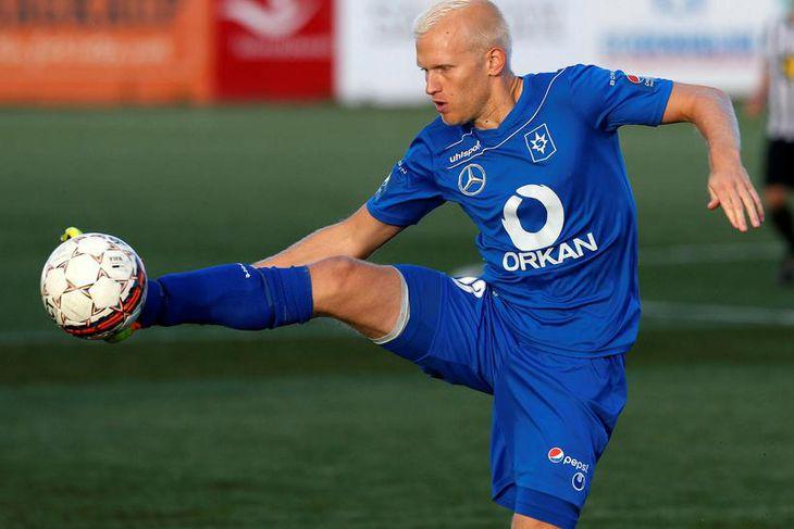 Halldór Orri Björnsson er kominn til FH frá Stjörnunni.