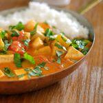 Albert galdrar fram thai-tofu-karrý