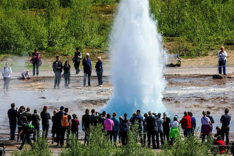 The area around Geysir is one of the most popular sights in Iceland.