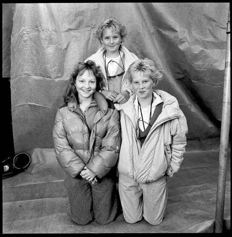 Ljósmynd/Guðmundur Ingólfsson. Úr röð ljósmynda sem Guðmundur Ingólfsson tók á afmæli Reykjavíkur 1986, fyrir tímaritið ...
