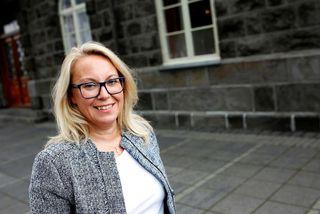 Sigríður Andersen dómsmálaráðherra.